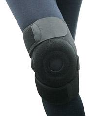 短版可調式護膝